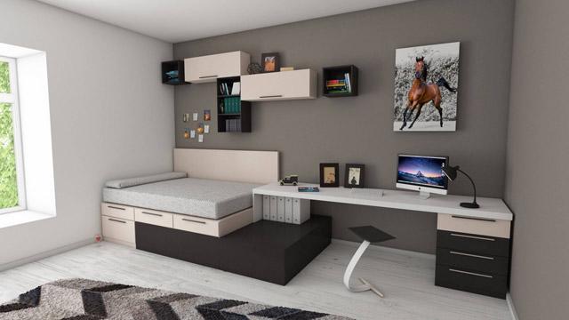 01 Berinvestasi dalam furnitur serba guna - paty Interior - 6 Ide Untuk Melengkapi Apartemen Kecil Anda